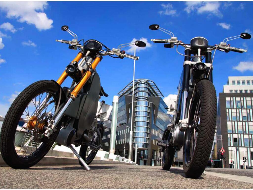 Erockit: Mensch-Maschine-Hybrid-Zweirad, handmade in Berlin - Bild(9)