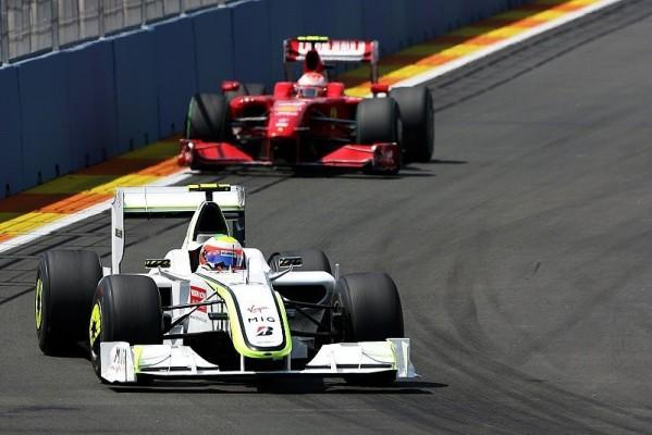 Europa GP: Barrichello gewinnt in Valencia