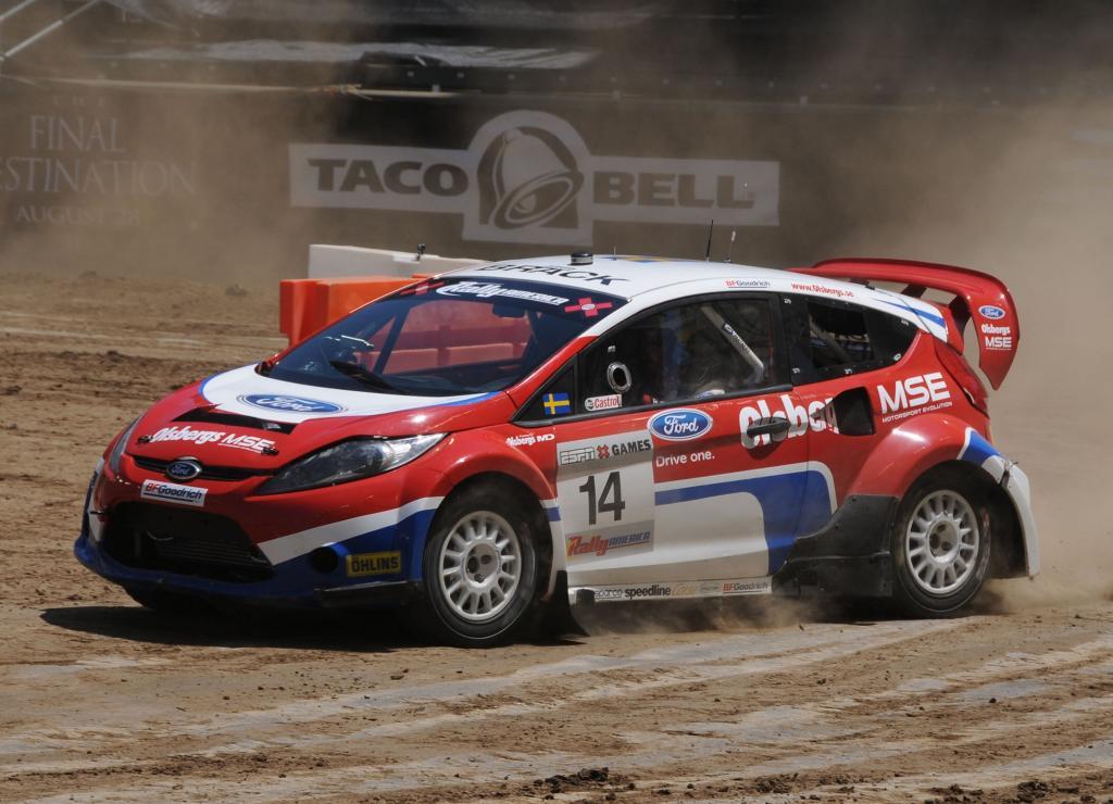 Ford Fiesta gewinnt Rallyewertung bei den X-Games