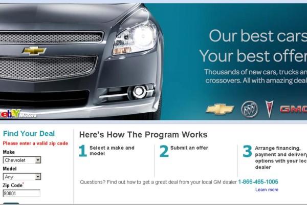 GM-Internetauktion: Viele Besucher, wenig Verkäufe