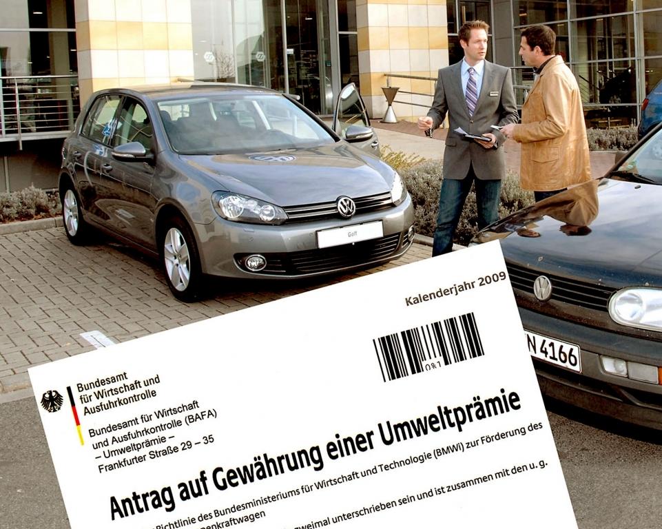 Händlernews: Betrug Abwrackprämie: Illegaler Weiterverkauf der Schrottautos floriert