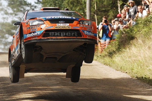 Henning Solberg in Australien: Top-5 Platzierung: Kurve zum Glück