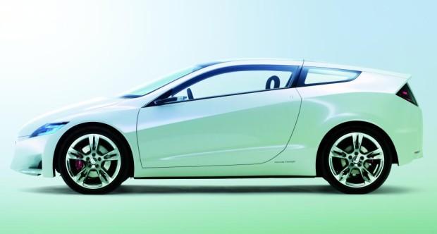 Honda kündigt Verkaufsstart des CR-Z Sports Hybrid für 2010 an