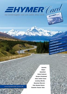 HymerCard-Reisen-Katalog 2010 ist erschienen