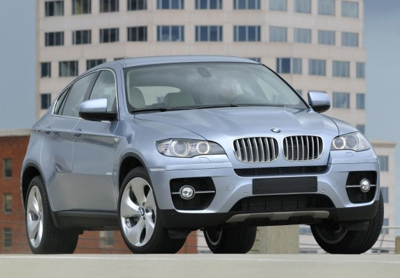 IAA 2009: BMW ActiveHybrid X6 kommt im April 2010
