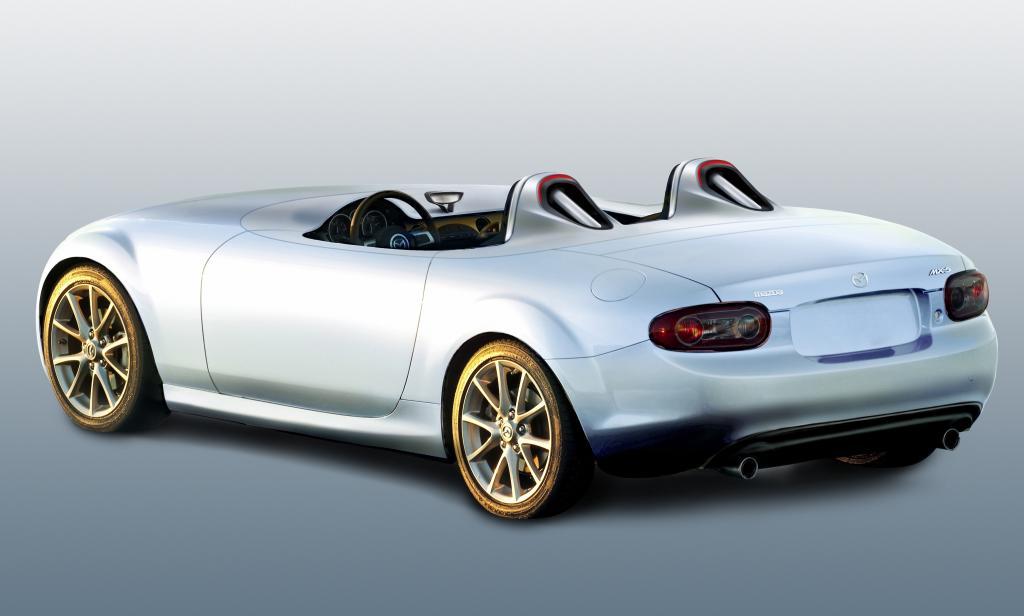 IAA 2009: Mazda zeigt Superlight-Version des MX-5 - Bild