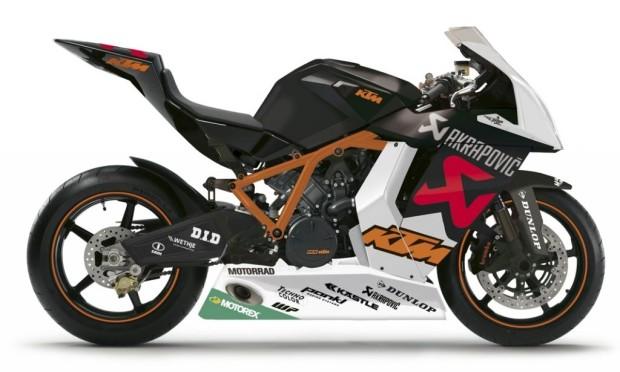 KTM setzt drittes Motorrad bei der IDM ein