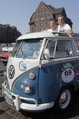 Klassik Rallye: Mit dem Oldtimer von Hamburg nach Berlin