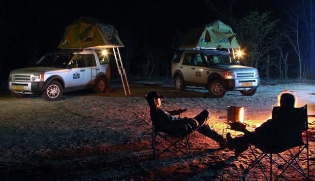 Land Rover-Experience führt nach Argentinien und Namibia