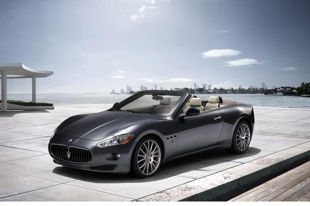 Maserati Gran Cabrio auf der IAA