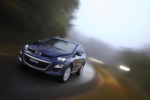 Mazda CX-7 mit Dieselmotor und SCR