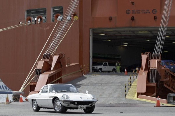 Mazda Sport Cosmo: Europas erstes Fan-Treffen