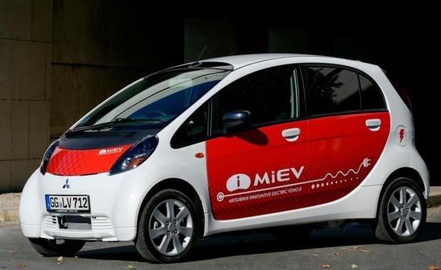 Mitsubishi i-MiEV wird in Sachsen getestet