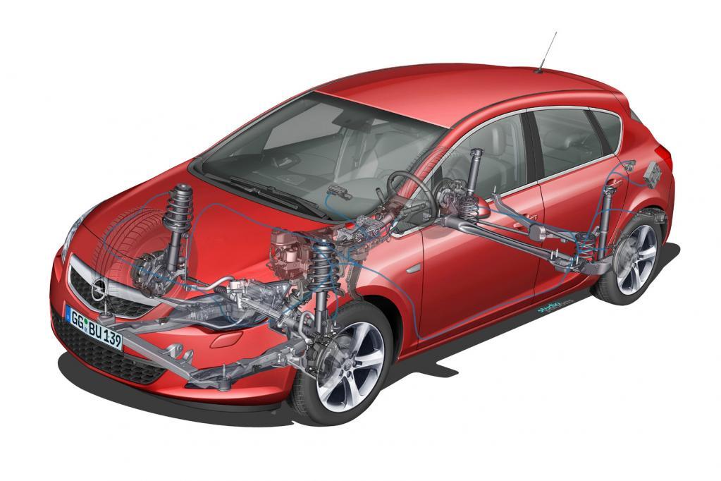 Neuer Opel Astra mit Patent-Fahrwerk
