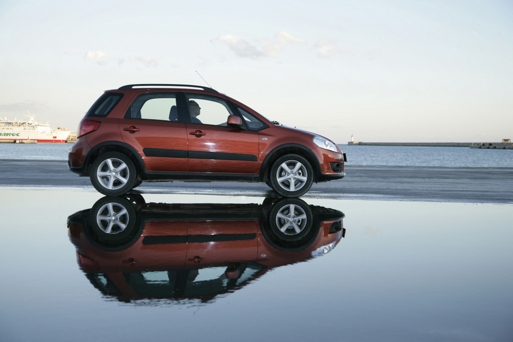 """Neuer Suzuki SX4 zunächst als Sondermodell """"City"""""""