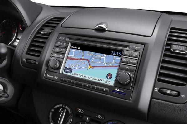 Neues Touchscreen-Navi bei Nissan