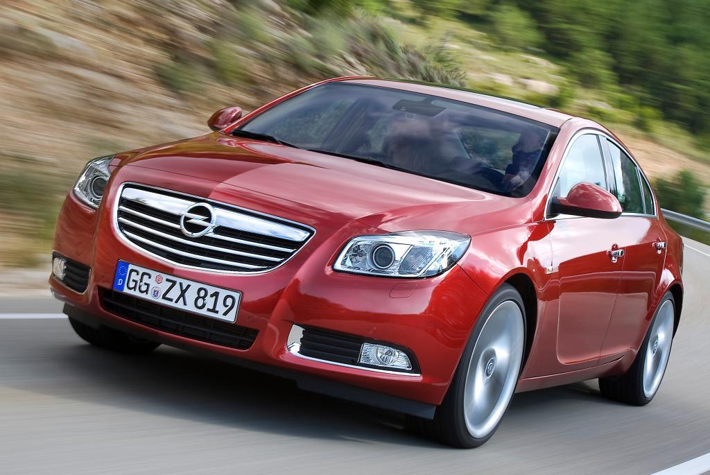 Opel Insignia mit hoher Wertstabilität