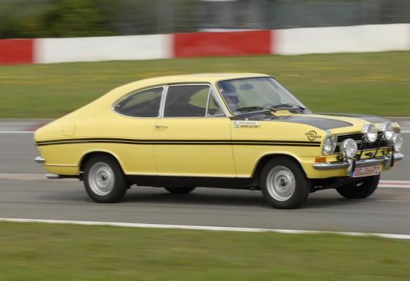 Opel Kadett von Altkanzler Schmidt beim AvD-Oldtimer-Grand-Prix