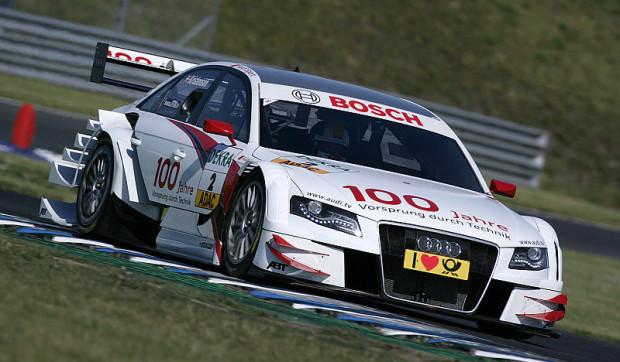 Oschersleben - Fünffach-Pole für Audi: Kristensen in Hochform