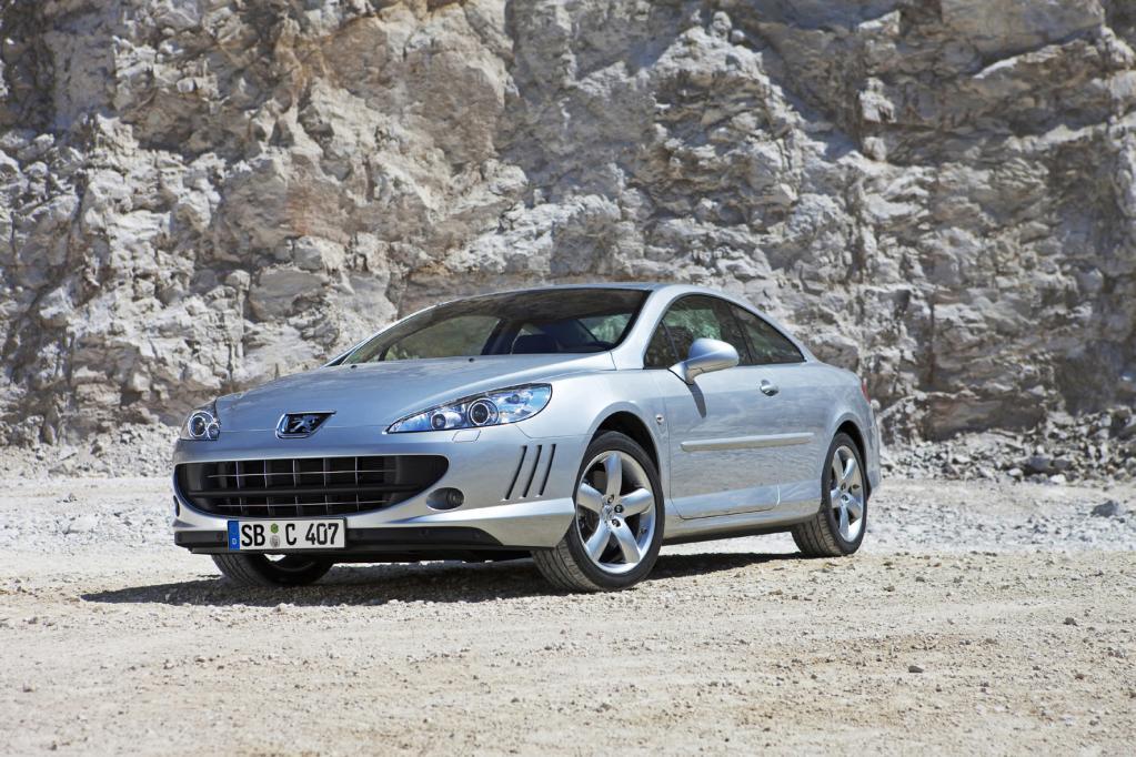 Peugeot 407 Coupé: Power-Diesel für den eleganten Franzosen