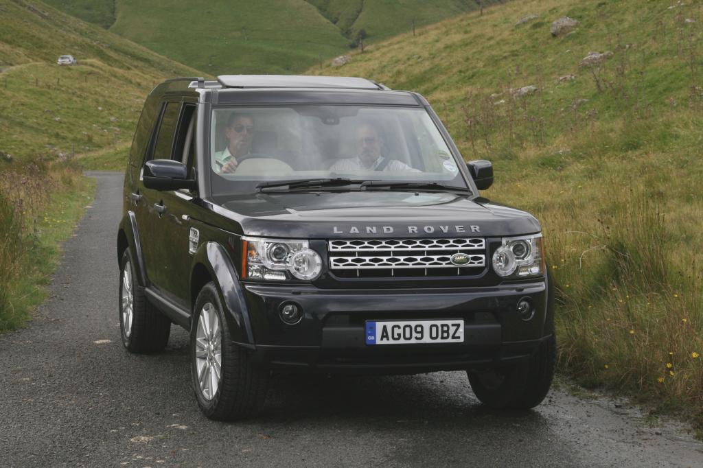 Presse-Präsentation Land Rover Discovery 4: Universaltalent
