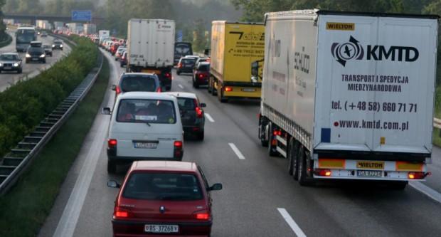 Rückreisewelle füllt die Autobahnen