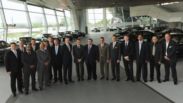 Saudi-arabisches Außenministerium hat 132 BMW 7 bestellt