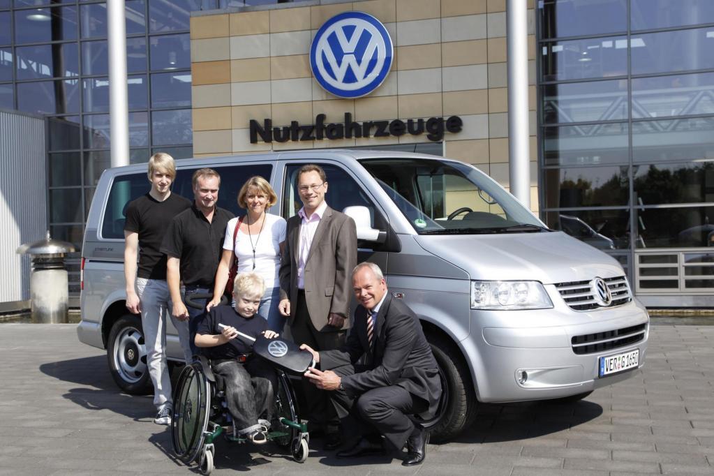 VW Multivan für Familie mit behindertem Kind