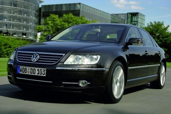 VW Phaeton feiert US-Comeback