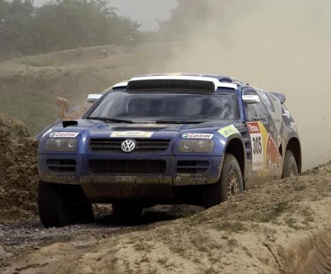 Volkswagen trainiert in Marokko für die Dakar