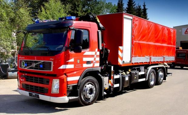 Volvo liefert erstmals Feuerwehrfahrzeug in Rheinland-Pfalz