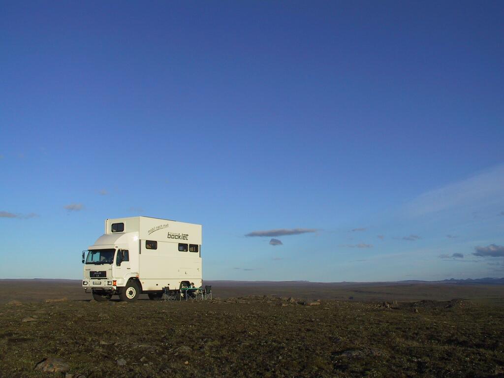 Wohnmobile: Bocklet Dakar 800: Hoch hinaus