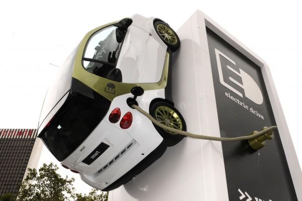 IAA: smart fortwo fährt elektrisch