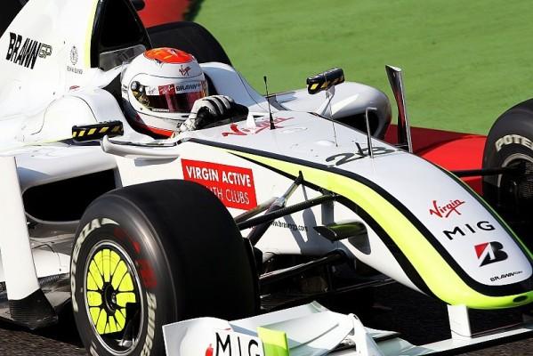 1. Freies Training : Barrichello mit Bestzeit