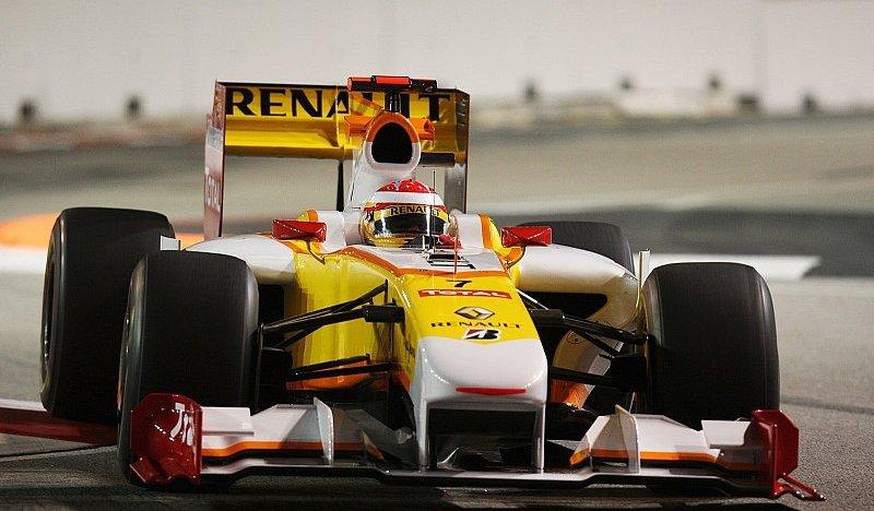 2. Freies Training : Vettel vor Alonso in Singapur