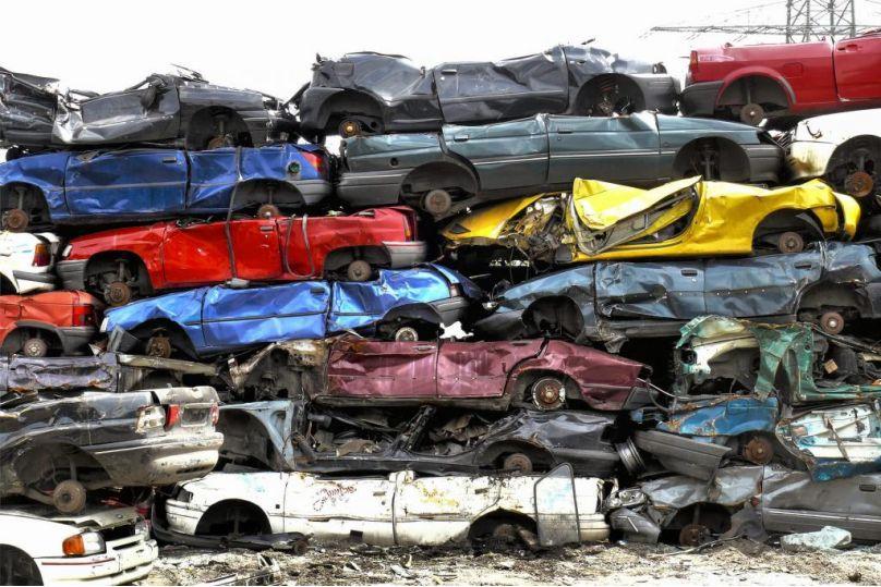 Abgewrackte Autos meist sehr gepflegt