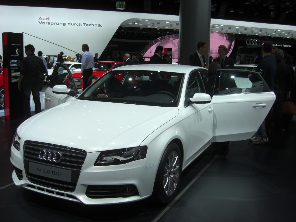 Audi A4/A4 Avant 2.0 TFSI flexible fuel können auch Bioethanol tanken