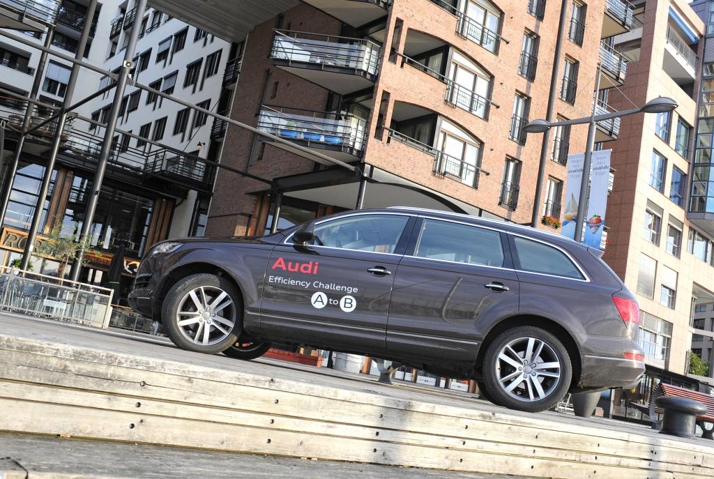 Audi Efficiency Challenge: Heute in Berlin