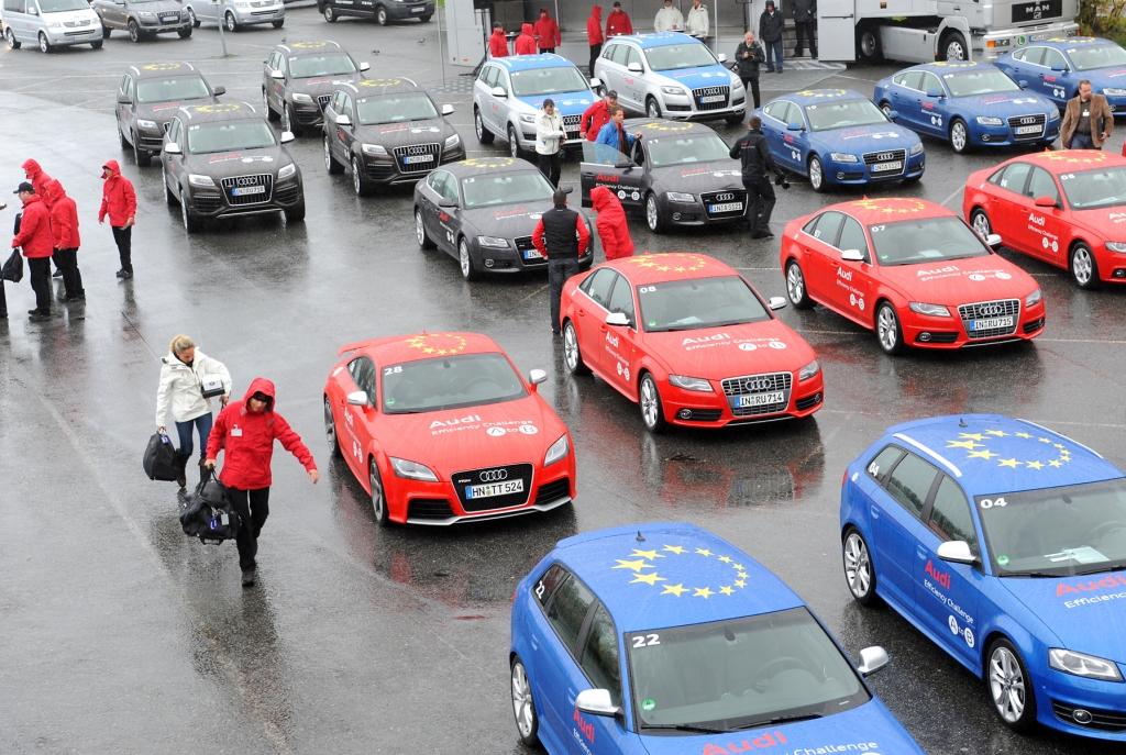 Audi Efficiency Challenge: Heute nach Mo i Rana