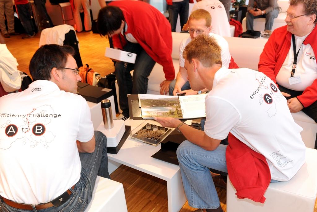 Audi Efficiency Challenge: Wieder auf Bestwertkurs gen Oslo