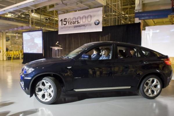 BMW feiert 1,5 millionstes Fahrzeug aus Spartanburg