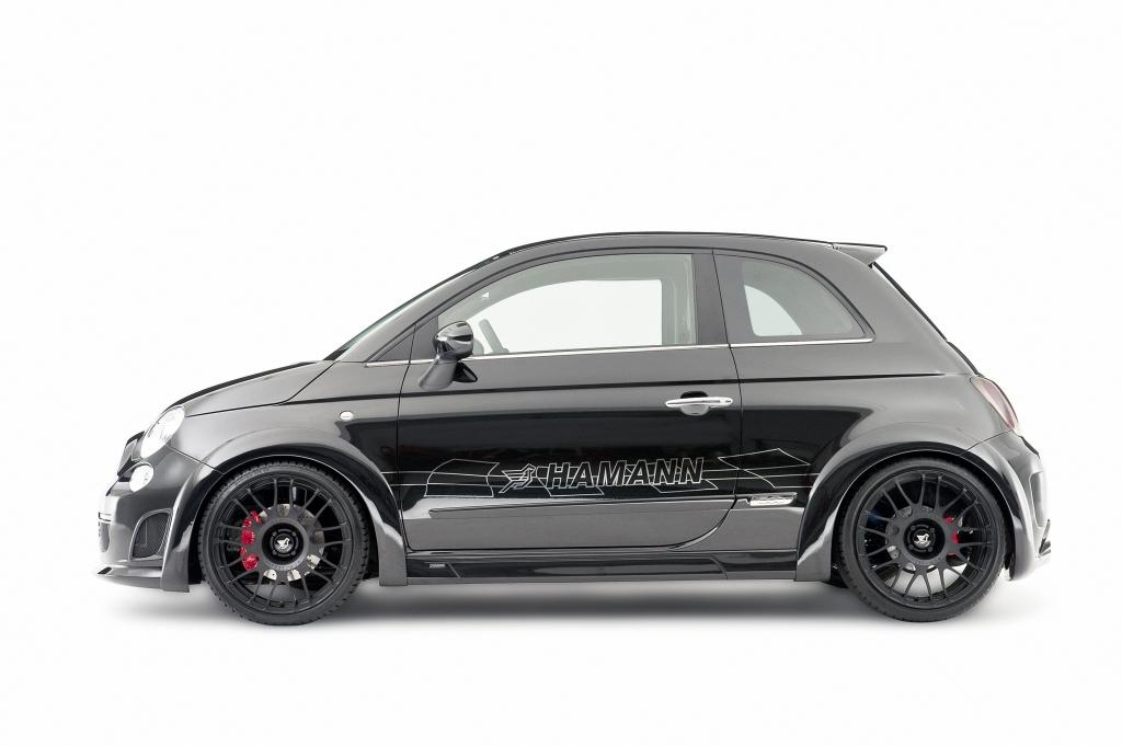 Breiterer Fiat 500 in Sportoptik