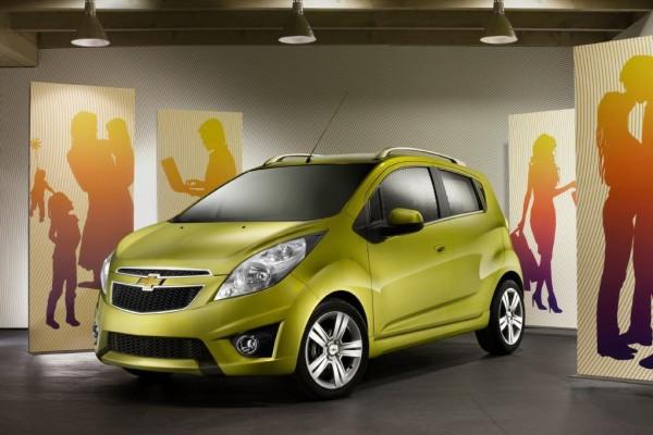 Chevrolet Spark: Pfiffiger Cityflitzer zeigt sich auf der IAA