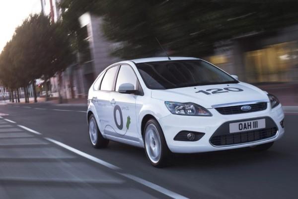 Elektroversion des Ford Focus auf der IAA