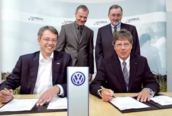 Energie-Partnerschaft von VW und LichtBlick