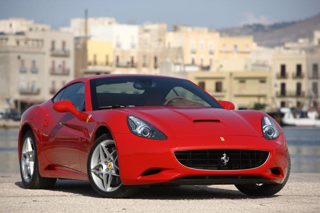 Ferrari California: Roter Renner im Schongang