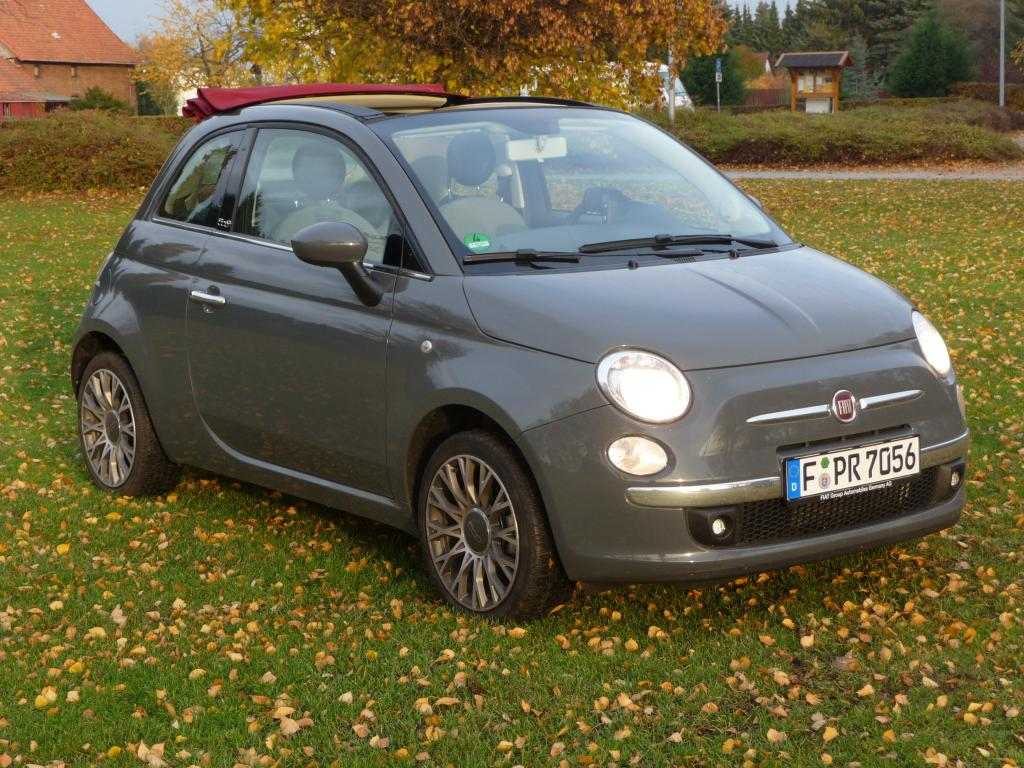Fiat 500C.