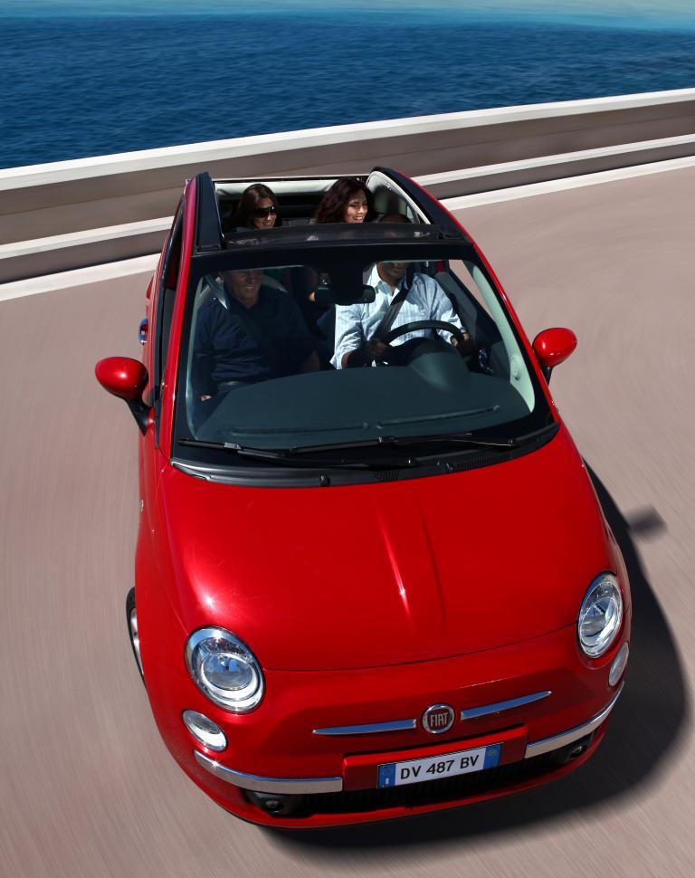 Fiat 500 C: Mit klassischem Rollverdeck durch die Sonne - Bild(3)