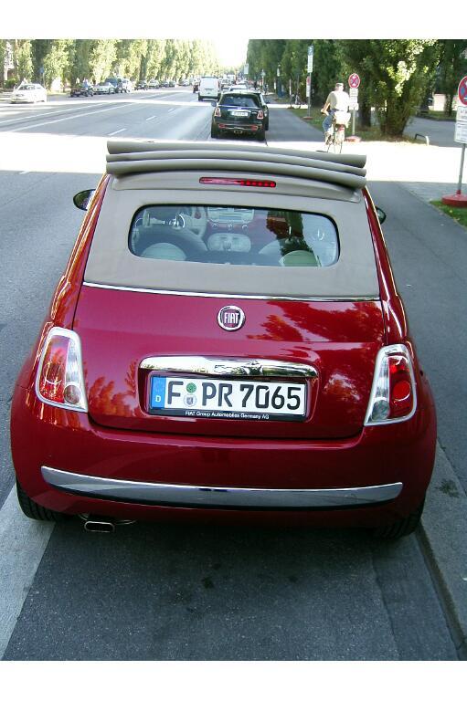 Fiat 500C: Erinnerung an einen Klassiker - Bild(9)