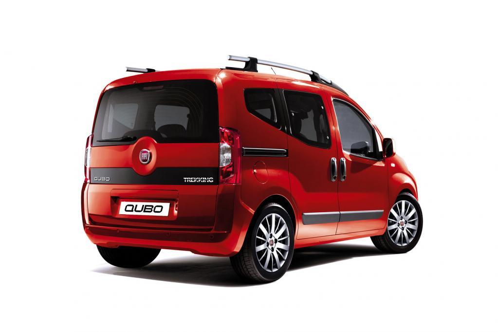 Fiat Qubo auf Trekking-Tour